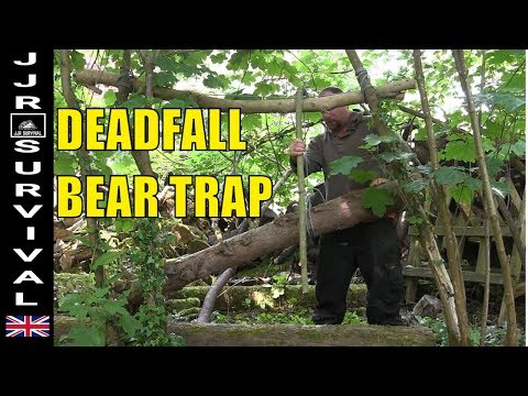 Deadfall Bear Trap