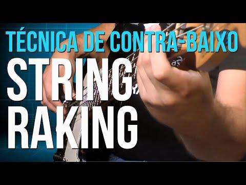 String Raking (aula técnica de contra-baixo)