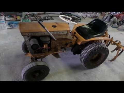 Allis Chalmers B10 garden tractor for sale | no-reserve Internet auction May 3, 2017