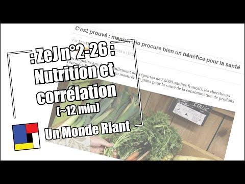 Zététique et journalisme - #2-26 - Nutrition et corrélation