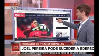 Porto e Benfica disputam Joel Pereira