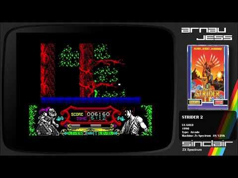 STRIDER 2 Zx Spectrum