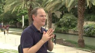 Ryland Angel's talks Baroque music - Interview on San Antonio Riverwalk