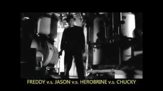 FREDDY vs  JASON vs  HEROBRINE vs  CHUCKY
