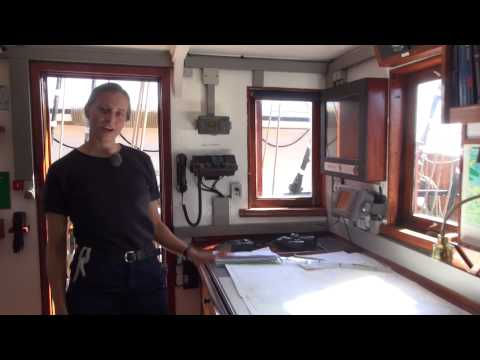 A guided tour of Training Ship DANMARK