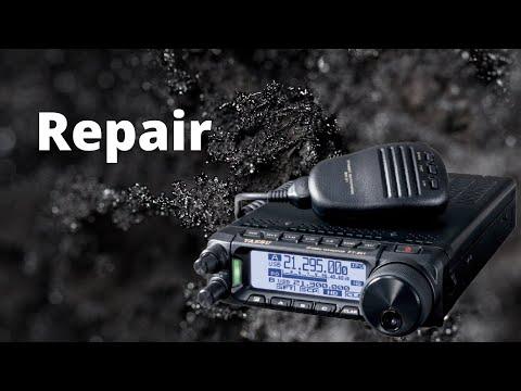 How to fix Broken Knobs on Your Yaesu FT-891 - VR Unit Repair