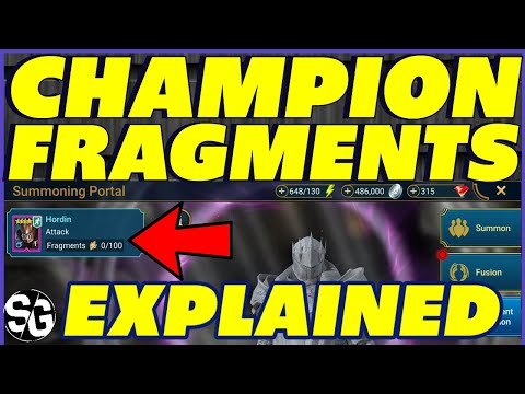 CHAMPION FRAGMENTS EXPLAINED RAID SHADOW LEGENDS PATCH 2.1