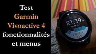 vidéo test Garmin Vivoactive 4 par Montre cardio GPS