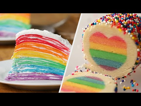 7 Dazzling Rainbow Recipes ? Tasty