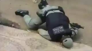 Bandido reage toma arma atira e mata PM no Acre.