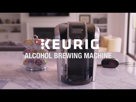 The Keurig Alcohol Brewing Machine