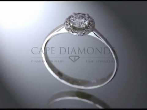 Complex stone ring,round diamond,round fitting with diamonds,thin platinum band,engagement ring