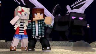 Minecraft Música ♫ - FIM DO JOGO   Animation Minecraft