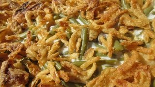 French's FAMOUS GREEN BEAN CASSEROLE - How to make GREEN BEAN CASSEROLE Recipe