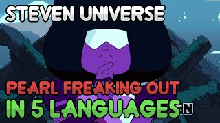 Pearl Freaking Out in 5 languages (Steven Floats) (HD)