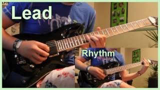 Black Veil Brides - Fallen Angels (Guitar solo cover)