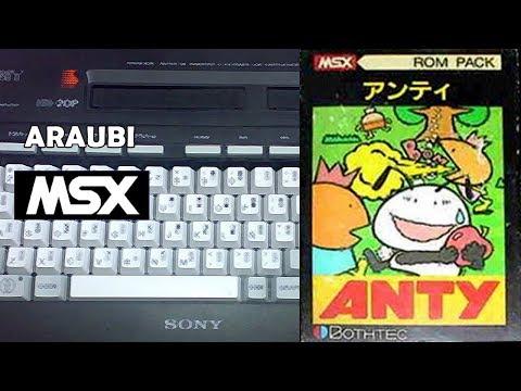 Anty (Bothtec, 1984) MSX [401] Walkthrough Comentado