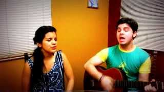 Say Something - A Great Big World & Christina Aguilera - Guitar cover: Ricardo & Luisa Guzmán