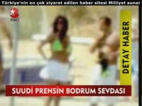 SUUDİ PRENSES BODRUM'DA BİKİNİYLE,10.07.2009