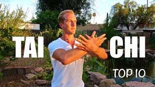 Top 10 Tai Chi Moves for Beginners width=