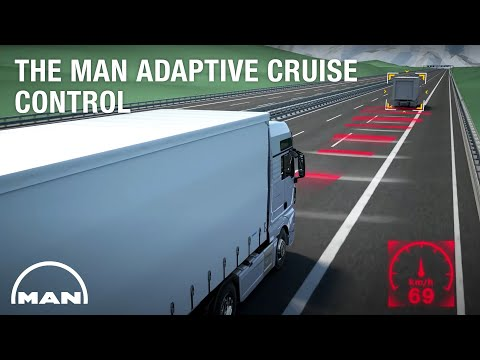 The MAN Adaptive Cruise Control with Stop & Go Function for anticipatory driving