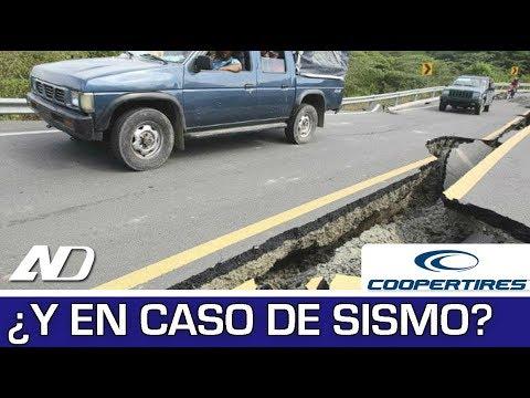 """¿Qué hacer si estás en tu auto durante un sismo"""" - Cooper Consejos en AutoDinámico"""