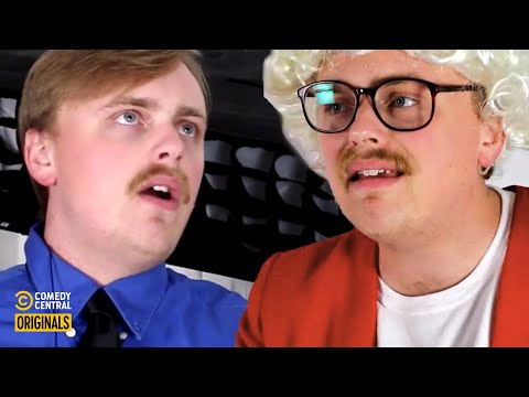 How Old People Go Through TSA (feat. @Gus Johnson) - funny