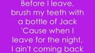 Ke$ha - Tik Tok with Lyrics