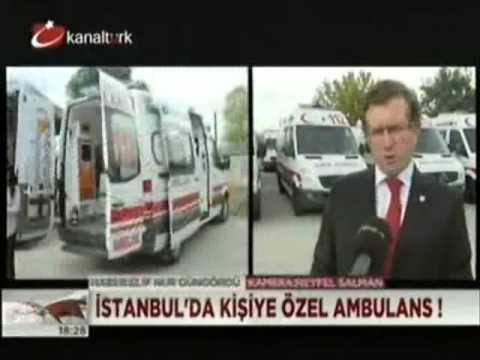 Kanaltürk Prof  Dr  Ali İhsan Dokucu 112 Komuta Kontrol Merkezi Açılışı