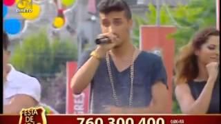 """Cantor FRAN """"The party is now"""" em Braga nas Festas  S. João 2015 (TVI) - Contacto para Arraiais"""