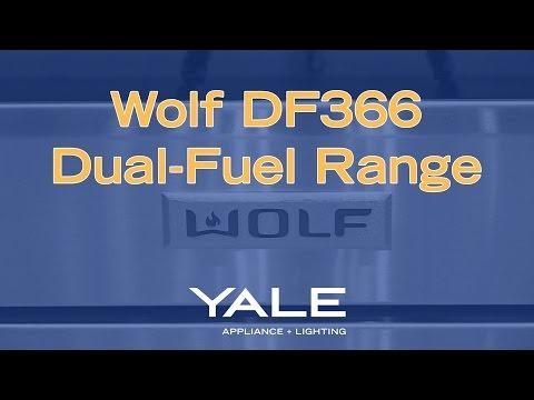 Wolf 36-inch Dual-Fuel Range