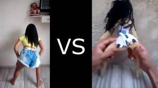 Menina vs boneca no funk quem dança melhor
