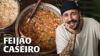ARROZ E FEIJÃO CASEIRO!