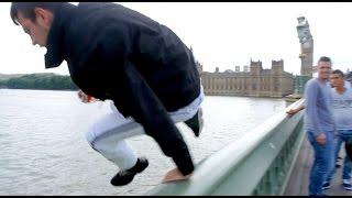 London Bridge Suicide Parkour