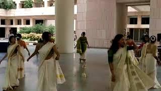 Thiruvathira dance on Onam