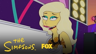 Lisa Simpson Goes Totally Gaga for Lady Gaga | Season 23 | THE SIMPSONS