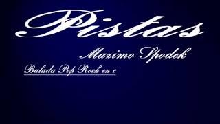PISTA DE BALADA POP ROCK EN C PARA IMPROVISAR EN GUITARRA, BAJO, BATERIA, TECLADOS , PIANO ETC