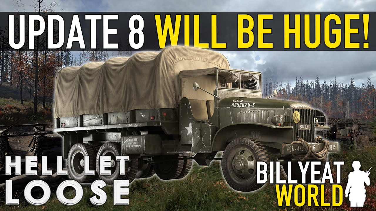 BillyEatWorld - Everything We Know About UPDATE 8... It's Going To Be HUGE! | HELL LET LOOSE [News]