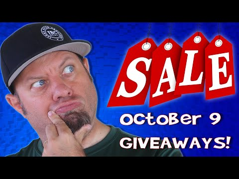 Ham Radio Shopping Deals and GIVEAWAYS for October 9th