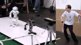 Dubstep Robots - Kinect Dual Robot Dance