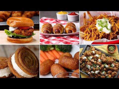 Stadium-Inspired Recipes You Can Make At Home ? Tasty Recipes
