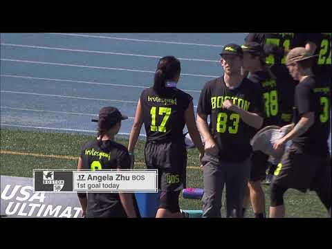 Video Thumbnail: 2018 National Championships, Women's Final: San Francisco Fury vs. Boston Brute Squad
