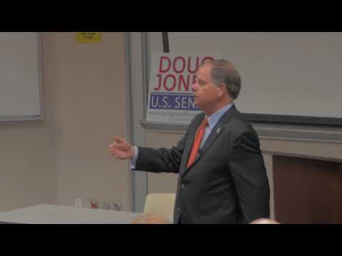 Doug Jones Speech At Auburn University - 10/25/2017