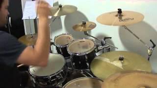 Drum Cover - Reginaldo Carlos ( Edson e Vinicius - Feinho )