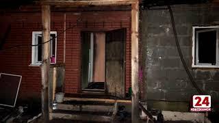 В Амзе сгорел дом и автомобиль