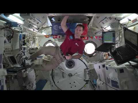 Station Crew Member Discusses Life in Space with F…
