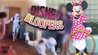 DISNEY CHARACTER BLOOPERS | Funny Disneyland / Disney World FAILS 2019 Pt. 2