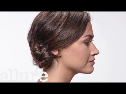 How to Do a Braided Chignon Hairstyle