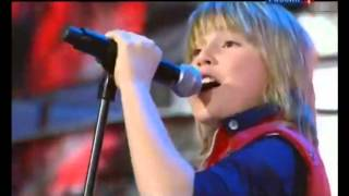 Junior Eurovision song contest  Robin Packalen The Final Countdown  New Wave 2010