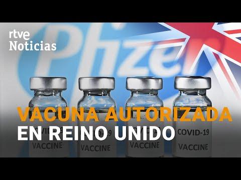La VACUNA PFIZER-BIONTECH autorizada en REINO UNIDO   RTVE